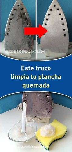 This trick cleans your burnt iron and leaves it as factory outlet, does not stain clothes - Home Cleaning