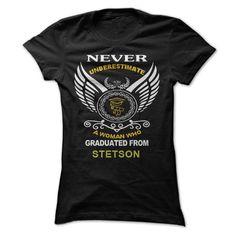 A Woman Who Graduated From Stetson University T Shirt, Hoodie, Sweatshirt