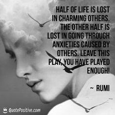 Rumi ROCKS!  👉👉http://quotepositive.com👈👈    #Abundance, #Affirmations, #Conversationswithgod, #Inspirationalquotes, #Lawofattraction, #Louisehay, #Motivationalquotes, #Nealedonaldwalsch, #Oprah, #Positiveattitude, #Positivequotes, #Positivethinking, #Quotepositive, #Rumi, #Rumiquotes, #Spirituality, #Thinkandgrowrich