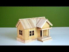 A house made of popsicle sticks Arts and Crafts Exactly what are 'arts & crafts'? Generally, the term 'arts & crafts' refers to handmade solutions which we Popsicle Stick Crafts For Adults, Popsicle Stick Houses, Craft Stick Crafts, Popsicle House, Stone Crafts, Cardboard Crafts, Diy Chair, Easy Youtube, Popsicles