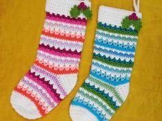 Best 11 Beautiful Ombre shawl crochet pattern made using Lion Brand Mandala Yarn. A great idea for using yarn cakes. Get the free crochet pattern on My Poppet MAKES now. Knitting Patterns, Sewing Patterns, Crochet Patterns, Christmas Stocking Pattern, Christmas Stockings, Sewing Hacks, Sewing Projects, Softies, Crochet Video