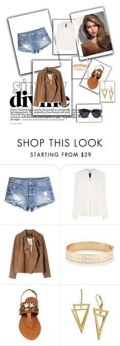 """""""cowgirl"""" by marina-gomes on Polyvore featuring moda, H&M, Derek Lam, Stella & Dot e Le Specs"""