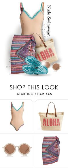 """""""Seeing Stars"""" by interesting-times ❤ liked on Polyvore featuring kiini, Rip Curl, House of Holland, Gottex and Tory Burch"""