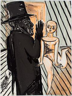"Lena Cronqvist: Ur ""Ett Drömspel"", 1989, litografi, 73x52 cm, edition II/X - Bukowskis Market 3/2016"