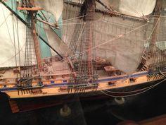 Tall Ship, Gun Ship Model