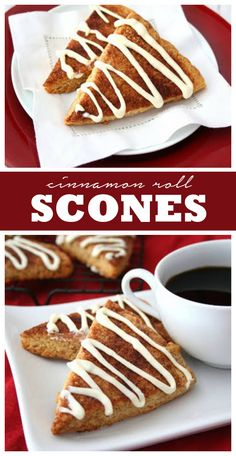 Low Carb Cinnamon Roll Scones - grain-free
