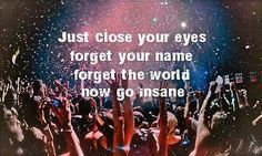 Just close your eyes..