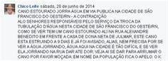 RN POLITICA EM DIA: ATENÇÃO CAERN: VIA FACEBOOK, CHICO LEITE DENUNCIA ...