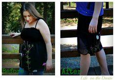Easy maternity skirt