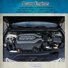 #QualityUsedEngines The 2014 Acura TL will be available in two different motor sizes, either the 3.5 or the 3.7 liter. Both motors are V-6 and will give you 258-286 horsepower for your driving pleasure.