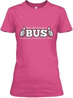 Bus Driver Ladies' Tee | Teespring