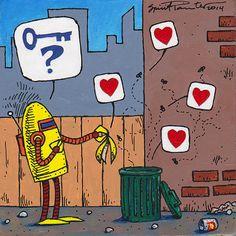 Dawkins the Robot Tiny Daily Reiki 077 Dawkins finds widespread agreement today.
