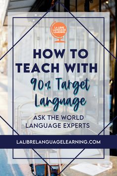 Teaching with 90% target language is finally possible with these countless expert teacher tips from the world language community. Watch the video series of Spanish teachers and comprehensible input French teachers to get tons of ideas for using target language in your middle school Spanish class or high school French class. Don't miss the speaking and listening activity ideas for your world language classroom! #targetlanguage #comprehensibleinput #highschoolspanish #frenchclassroom High School Activities, Teaching Activities, Teaching Ideas, Listening Activities, Spanish Activities, French Teacher, Teaching French, Teaching Spanish, Spanish Teacher