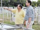En Quines ensayan un riego por goteo subterráneo solar