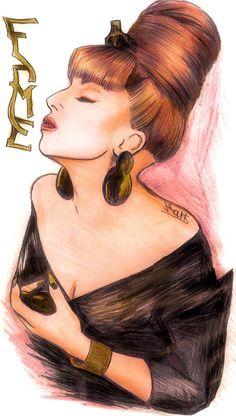 #ladygaga #fame #sketch