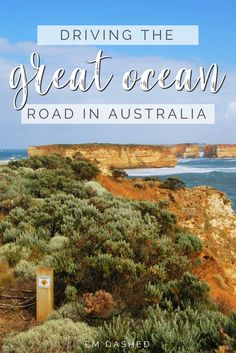 A road trip along the Great Ocean Road in Victoria -- the perfect choice for a day or weekend trip from Melbourne. | #Australia