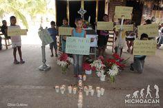 """Despiden a Hedilberto, el niño que mató el Ejército; sus amigos protestan: """"No disparen, somos niños"""""""