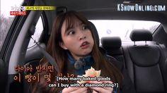 Hani [ EXID ] Guest on Running Man | b/c food is more important than diamond rings Ep. 237 #Food #EXID #Hani #RunningMan