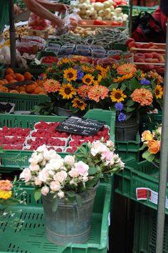 farmers market, Basel, Switzerland