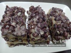 Korean Dishes, Korean Food, Asian Recipes, Healthy Recipes, Healthy Meals, Korean Cake, K Food, Rice Cakes, Vegan Gluten Free