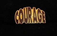 Alcoholics Anonymous Courage Lapel Hat Vest Pin NA Narcotics Al Anon | eBay