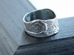 Mermaid Fine Silver Inspirational Ring - Beach Jewelery | 2 Sisters Handcrafted Visit www.2sistershandcrafted.com for more details