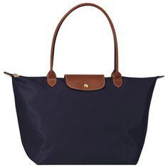 Longchamp Le Pliage Large Folding Tote Bag Navy : longchamp outlet, your description$71.50