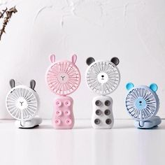 Hand Held Fan, Hand Fans, Output Device, Portable Fan, Shape Design, Phone Holder, Gift For Lover, Night Light, Display