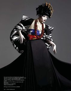 NEW TRADITION: EUGENIA VOLODINA BY ISHI FOR VOGUE NETHERLANDS MARCH 2013