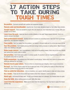17 Action Steps to T     17 Action Steps to Take During Hard Times  | Values to…