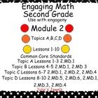 This Smart board lesson will help you with Second Grade, Module 2 of the engage NY math program. You will find slides for Concept Development and A...