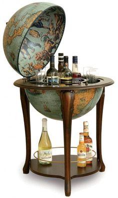 Zoffoli - Zoffoli Athena Bar Globe - My Parlor Room Decor, Mini Bar, Table, Bar, Interior, Globe Bar, Home Decor, Home Decor Accessories, Furniture