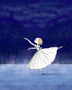 バレエイラスト Art Prints, Drawings, Dance Art, Magical Creature, Illustration Art, Ballet Art, Art, Fairy Tales, Ballerina Illustration