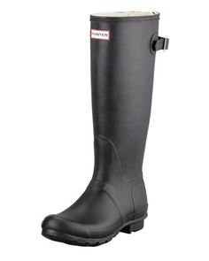 Flat Adjustable Matte Welly by Hunter Boot at Neiman Marcus.