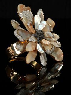 was nominated in top 5 in retail oscar jewellery awards # nature inspired bracelete Vine Design, Nature Inspired, Sparklers, Vines, Awards, Retail, Brooch, Jewels, Gemstones
