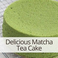Delicious Matcha Green Tea Cake!  #matcha #matchagreentea #greentea #cake #matchacake #antioxidants #energy #superfood #health #nutrition #organic #recipes #recipe #delicious #eatwell