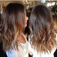 Who says balayage highlights are only for long hair? They look equally great on short hair as well. Check these amazing balayage hair now! Balayage Brunette, Hair Color Balayage, Brunette Hair, Balayage Highlights, Brown Balayage, Caramel Balayage, Caramel Hair, Hair Bayalage, Balayage Ombré