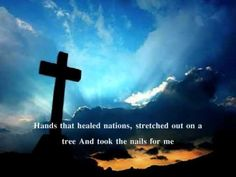 Living He loved me, Dying He saved me, Buried He carried my sins far away, Rising He justified, freely forever, one day He's coming, Oh Glorious day!
