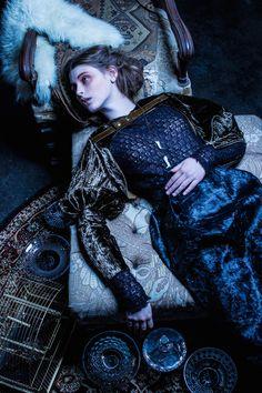 Designer Michelle Lesniak Very Joan of Arc!