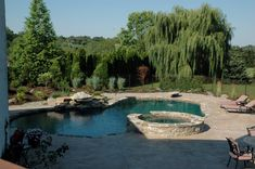 Inground Swimming Pools Gallery - Arista Pool and Spa, Inc.