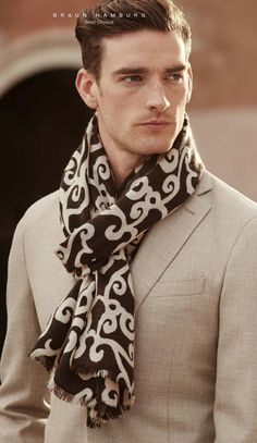 Awesome printed scarf