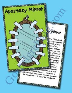 """Come Follow Me, April – The Apostasy and the Restoration: """"Why was the restoration necessary?"""" Young Women lesson helps 