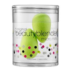 Rank & Style - Beautyblender micro.mini #rankandstyle #beautytools #hairtools http://www.rankandstyle.com/top-10-list/best-new-beauty-hair-tools/