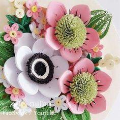 quilling flowers #learning #tutorial #quilling #flower # design # paper #paperquilling #quillingflowers #quillingart #papercrafts #paperart #paperflowers #handmade #종이감기#종이감기공예#종이감기꽃#종이공예#종이꽃#핸드메이드#クイリング#ペーパークラフト#手作り