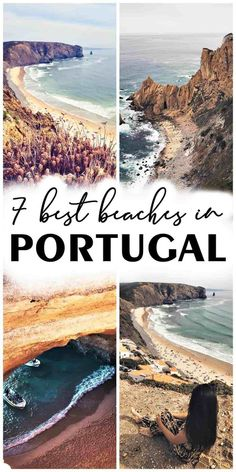 Surrounded by the Atlantic Ocean and blessed with positive temperatures all year round, it is no wonder that Portugal has some of the most beautiful beaches in Europe. After already talking about the 20 things to do in Lisbon, it is now time to mention the 7 most beautiful beaches in Portugal. #portugal #portugalbeaches #bestbeaches #visitportugal #algarve #benagil | best beaches in portugal | most beautiful beaches in portugal | portugal algarve | marinha beach | benagil caves Best Beaches In Portugal, Portugal Vacation, Visit Portugal, Portugal Travel, European Vacation, European Destination, European Travel, Europe Travel Guide, Travel Plan