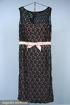 Beaded Coctail Dress, C. 1965