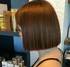 704 Best One Length Bob Images On Pinterest In 2019 Short Hair Dos