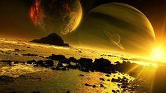 Outer space digital art (1920x1080, space, digital, art)  via www.allwallpaper.in