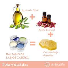 ¿Sabías que usando aceite de oliva puedes crear tu propio bálsamo de labios? http://style4life.mx/belleza/belleza/formas-de-usar-aceite-de-oliva-en-tu-rutina-de-belleza