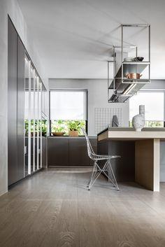 Le cappe Dada completano il progetto della cucina, combinando le esigenze estetiche di progetto con le migliori performance tecniche.